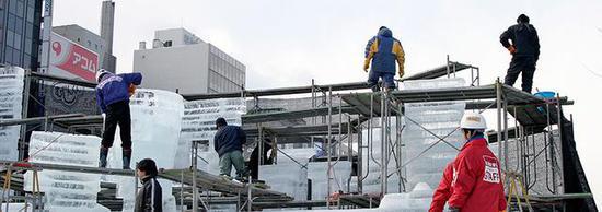 札幌冰雪节每年开办前的准备工作 图源:札幌冰雪节官网