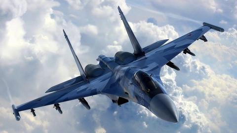 俄罗斯宣布向克里米亚长期安放战机。(图源:《莫斯科时报》)