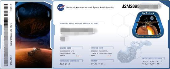 "NASA为申请者提供具有纪念意义的虚拟""船票""(大公网图)"
