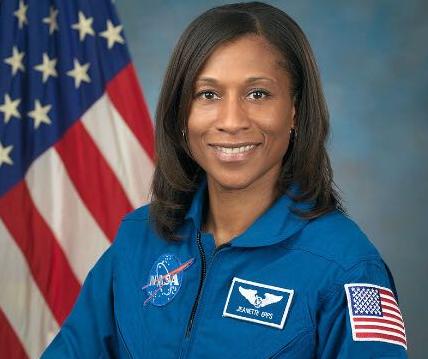 美国非裔宇航员珍妮特·埃普斯。