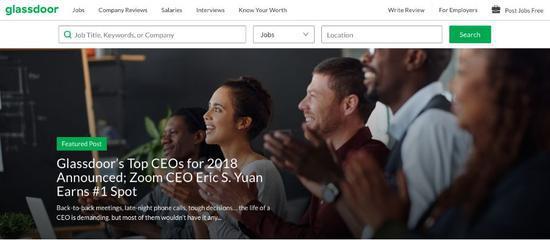 赢了库克 曾9次被拒签的中国小伙当选美国最佳CEO