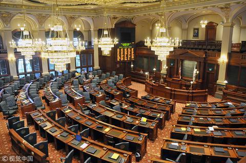美国多议院(图源:视觉中国)