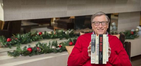 """比尔·盖茨(""""盖茨读书""""网站)"""