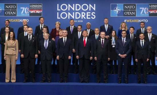 12月3-4日,北约峰会在伦敦举行,其成员国美国、加拿大、26个欧洲国家及土耳其派代表参会(图源:新华社)