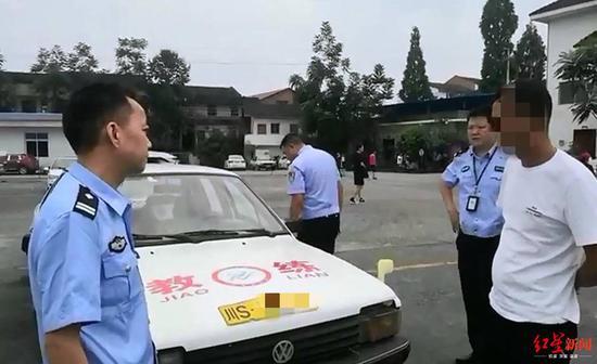 套牌冒充教练车从事教学活动 他面临罚款和其他处罚