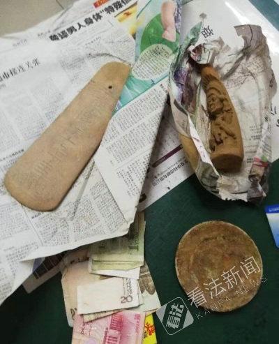 占小便宜心态要不得!男子伪装成工人售卖假古董获利共5千余元