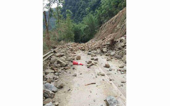 7月4日10时17分,四川宜宾市珙县发生5.6级地震。图/珙县发布