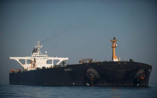 直布罗陀释放扣押的伊朗油轮 美国曾申请继续扣押
