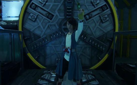 《假面骑士W》中即将变身的菅田将晖。