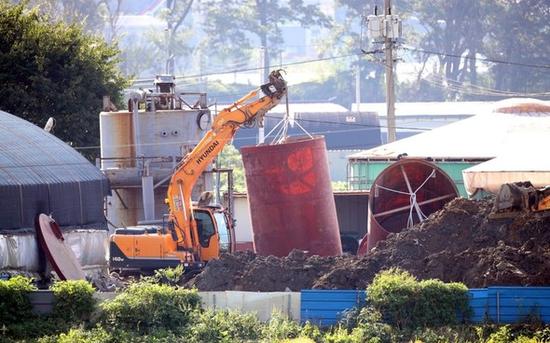 韩国展现首例非洲猪瘟疫情hg0088官网养猪场位于京畿道坡州市(图据《朝鲜日报》)