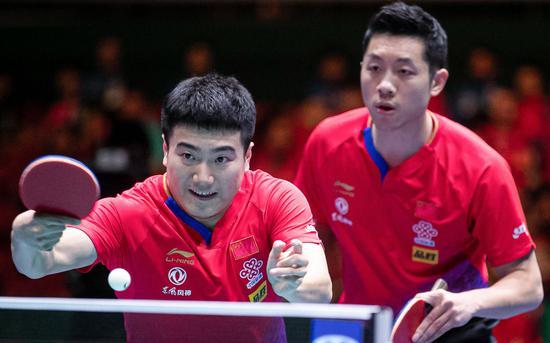 國乒第10次摘得世界杯男團冠軍 圖/Osports