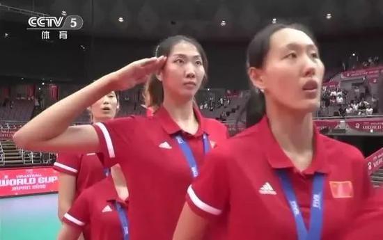 女排世界杯冠军颁奖仪式