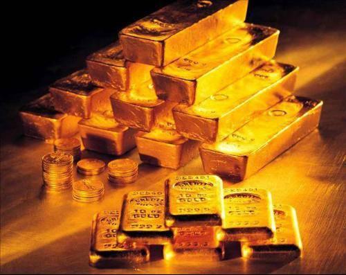 图为黄金。原料图片