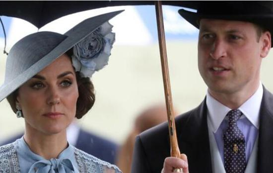 英国威廉王子和凯特王妃(图源:GETTY)