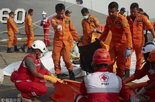 印尼狮航失事客机飞走员家属首诉波音公司。(图源:视觉中国)