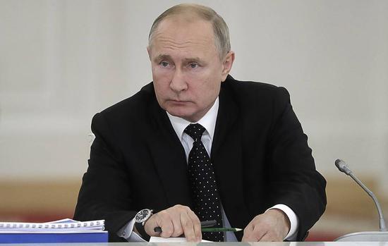 俄总统普京。(图:塔斯社)