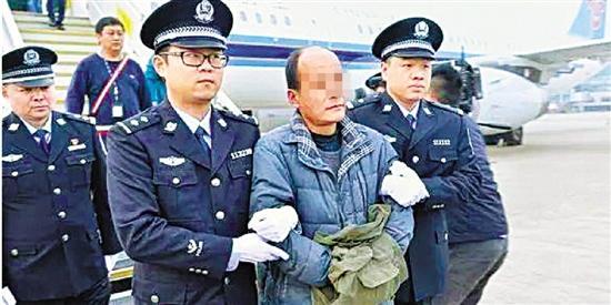 周骥阳被浙江省公安厅缉捕归案。本报资料照片