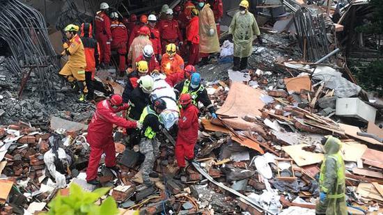 臺灣地震遇難人數上升至7人