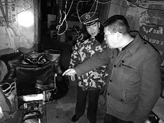 图片来源:北京晨报 消防/供图