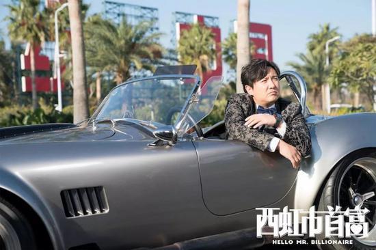 疑似Shelby Cobra427 老爷车,白色涂装纹改为了黑色