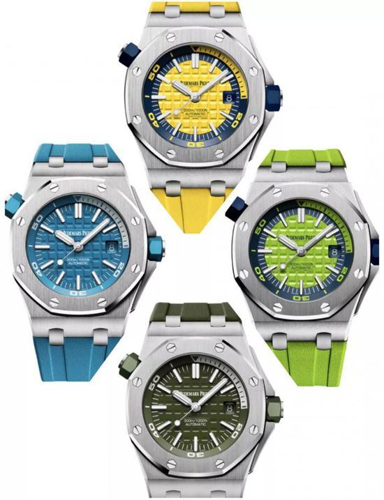 受年轻消费者喜欢的色彩爱彼腕表