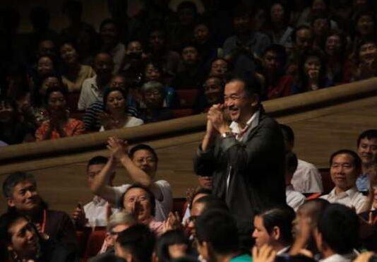 黄宏出席第33届哈尔滨之夏音乐节闭幕式