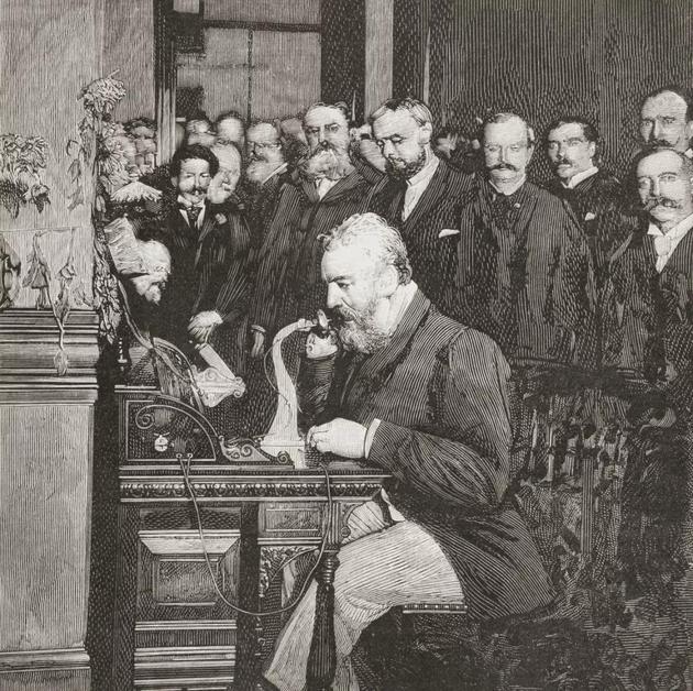 亚历山大・格雷厄姆・贝尔,电话的发明者