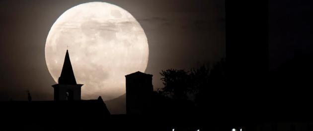 月球如何微妙影响着地球的天气?