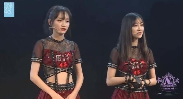 SNH48冯薪朵黄婷婷辞队长职务 为李艺彤风波道歉
