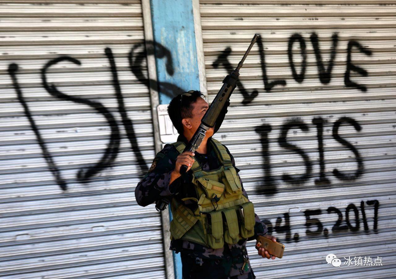 """暴恐分子标志_看看菲律宾,就知道这回老杜真""""摊上大事儿""""了 【猫眼看人 ..."""