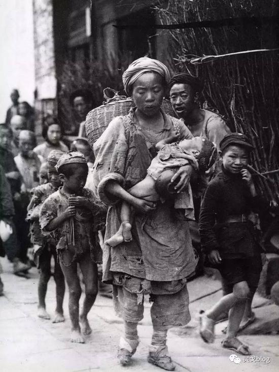 旧中国真是一穷二白?罕见照片大公开