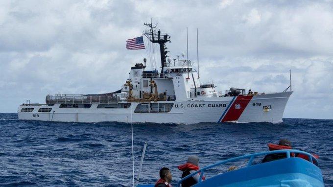 华州海岸警备队抓到感染新冠的走私犯,导致队员被隔离[doge]  #西雅图疫情# #美国疫情# #全球疫情# #迷惑行为大赏# 