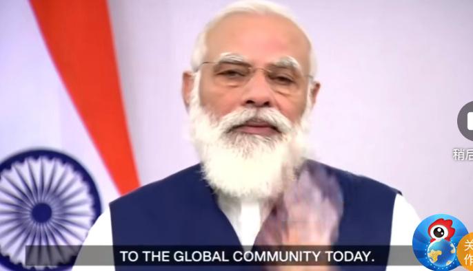 #莫迪承诺向全球提供印度疫苗生产力#迪25日在联大演讲,谈及疫情时,他称,作为世界疫苗生产第一大国,印度的疫苗生产和运输能力能帮助全人类应对新冠危机。当天,印度新冠患者累计突破590万,居全球第二,9.3万人死亡。 谈及印度的外交,莫迪称,印度将邻居放到第一位,致力于整个地区的安全和发展。 