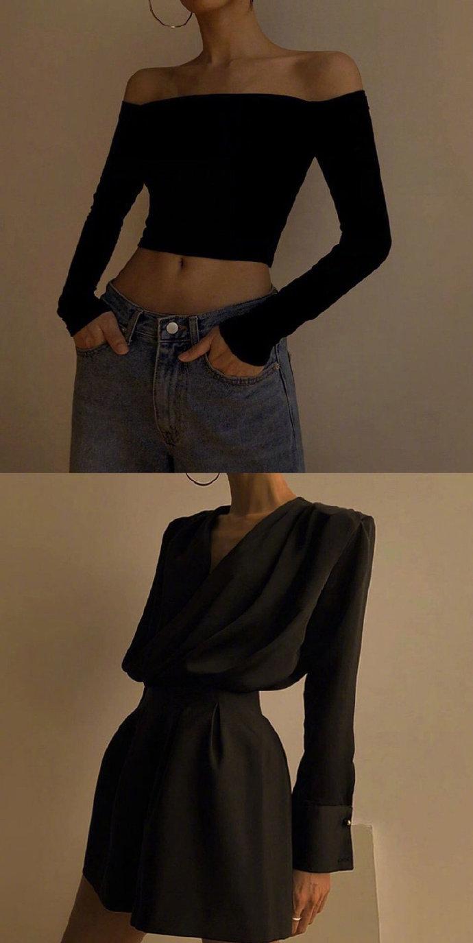 简单随性的法式时尚穿搭 #不同场合怎么穿# 