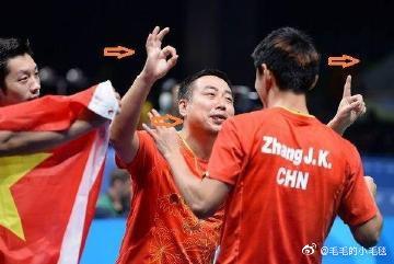 #刘国梁说队员是国宝#没错每一位都是国宝!刘国梁教练和所以队员都要平安健康归来噢![抱一抱] 