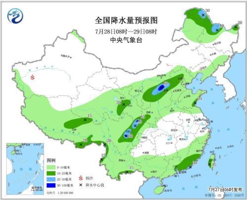 什么能快速赚钱四川盆地至北方地区将有中到大雨 华北等地有高温天气