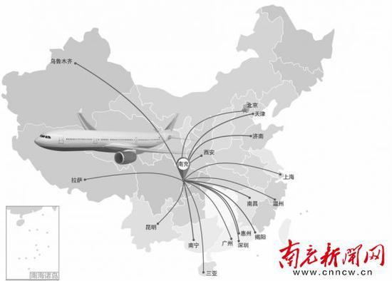 成都飞机航线图_打飞的说走就走 2020年南充将拥有双机场_新浪四川_新浪网
