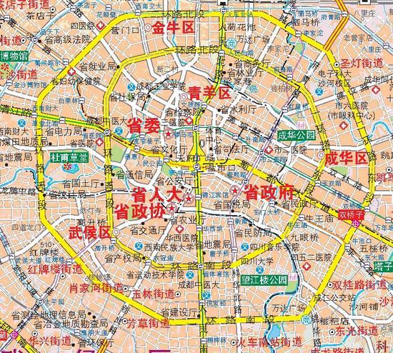 成都市地图_首张《成都市六环地图》出炉!_新浪四川_新浪网