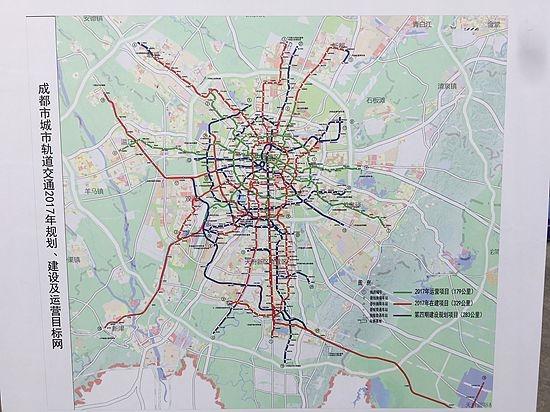 17号线规划图_成都地铁17号线一期将开工 最高时速140公里_新浪四川_新浪网