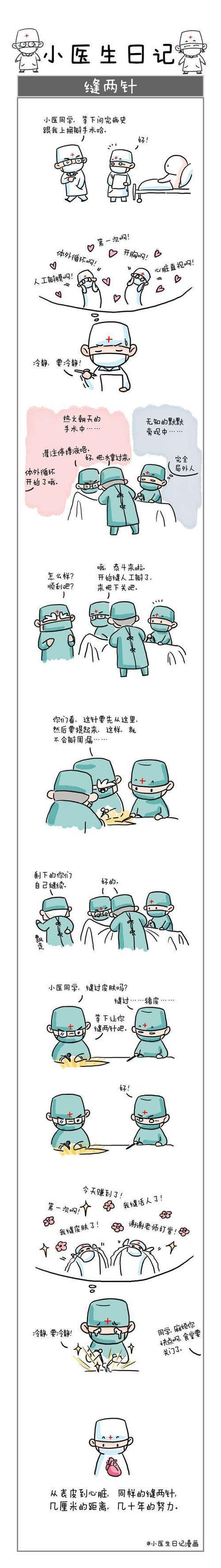 小医生日记-微漫画_成都小医生漫画又火了 作者调侃是过气网红又翻身_新浪四川_新浪网