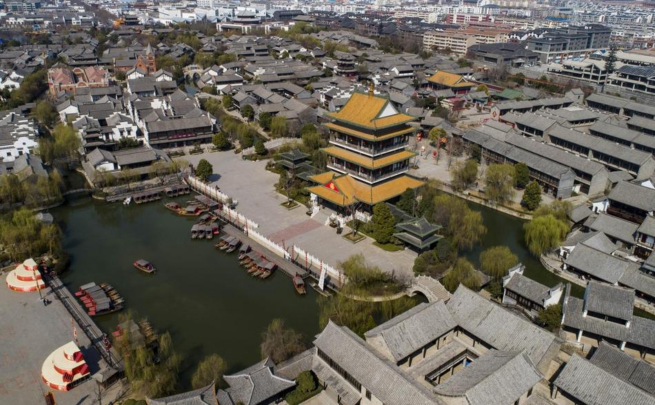 台儿庄:最美水乡,春意无限