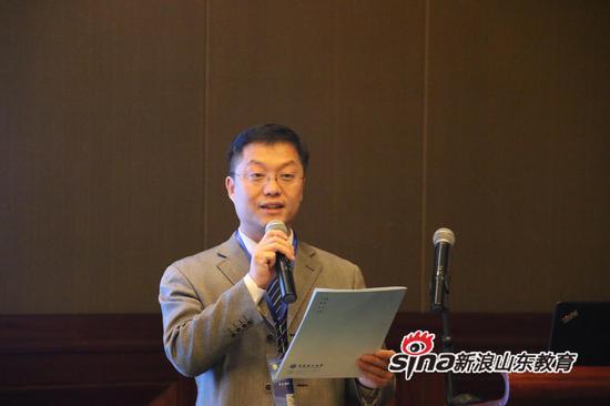 青岛理工大学副校长于德湖致辞