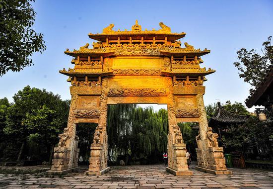 """台儿庄古城入选""""2018中国旅游产业影响力文化旅游景区""""十大案例"""