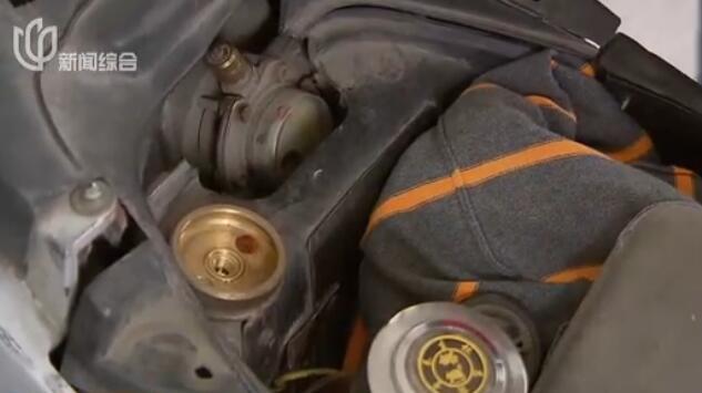 视频:上海燃气助动车今起停止供气 昨日油气站排长龙