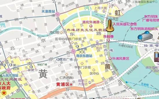 2018年《上海城区地图》