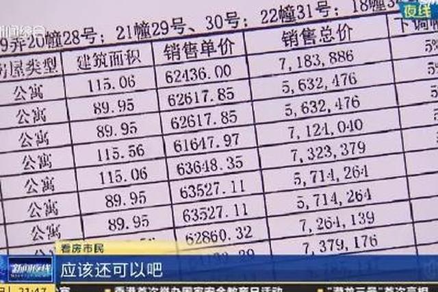 视频:申城迎新房集中供应 开盘价格普遍低于市场预期