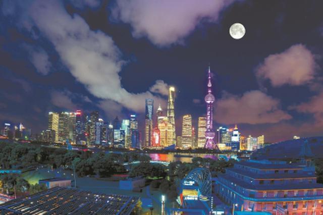 天气生活指数_浦江两岸皓月当空 与璀璨灯火相映成辉_新浪上海_新浪网