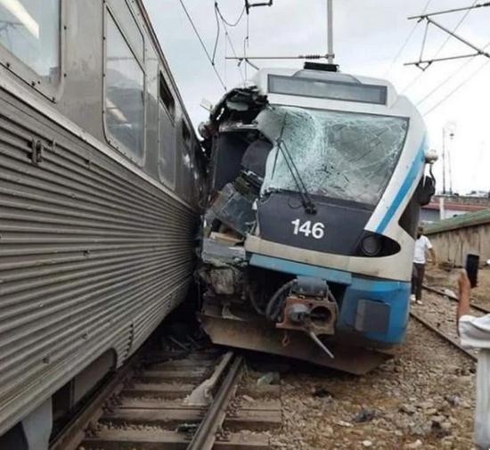 阿尔及利亚发生一起火车出轨事故 原因待调查