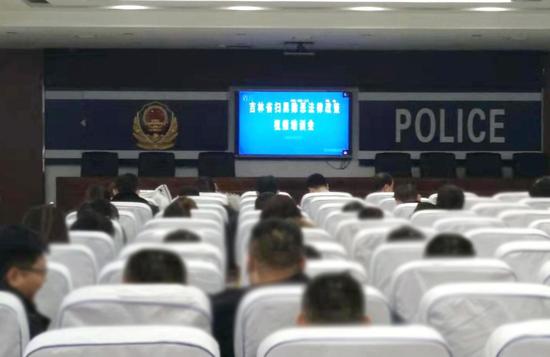 集安法院參加全省掃黑除惡法律政