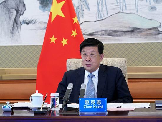 赵克志:共同谱写中塞执法安全合作新篇章